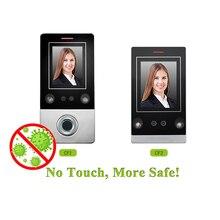 Reconocimiento facial cerradura inteligente control de acceso abridor de puerta con sensor de huella digital