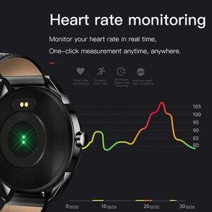 Image 2 - LIGE جديد الرجال ساعة ذكية رجل IP68 مقاوم للماء الرياضة آيفون smartband رسالة الاهتزاز دعوة تذكير smartwatch ساعة صحية