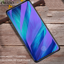 IMIDO Full Cover for OPPO F11 Pro Anti Blue Tempered Glass Screen Protector Blue-ray Protective Film