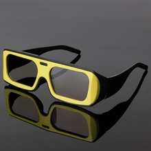 Dual Color Frame Circular Polarized Passive 3D Stereo Glasses For Real D 3D TV Cinema 634A цена и фото