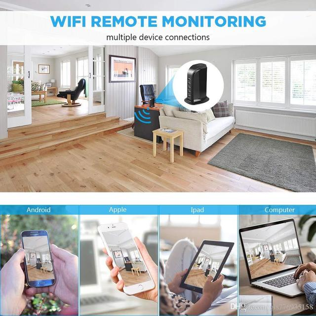 IP 4K WIFI Camera HD 1080P Wireless P2P camcorder Home Security USB Wall Charger cam Baby Camera Monitor Camcorder
