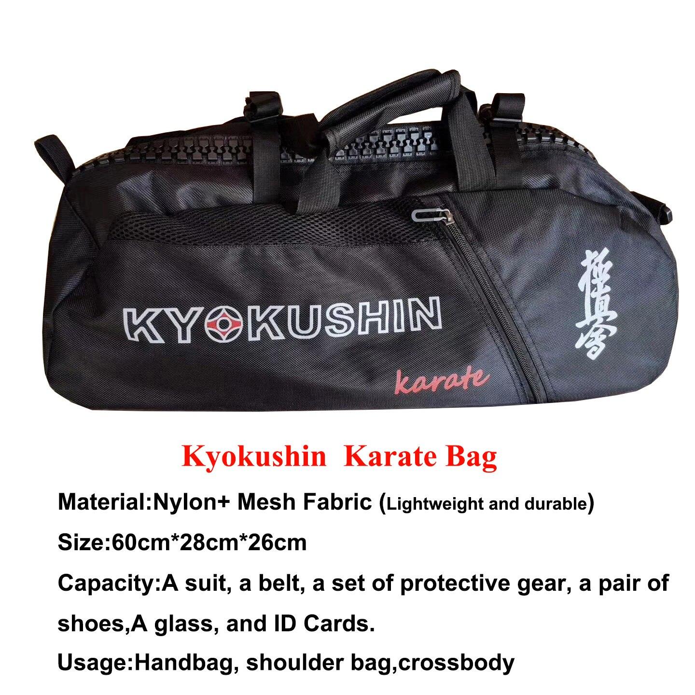 New Karate Kyokushin Bag For Training Kyokushinkai Karate Sport Bag Lightweight Handbag Multifunction Waterproof Backpacks