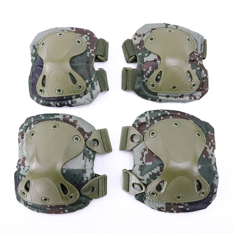 2020 New Army Tactical Paintball Airsoft Hunting Sports Military Protection Knee Pads & Elbow Pads Set