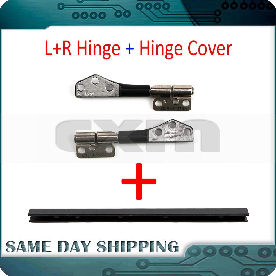 For Macbook Pro 13'' A1278 Left And Right LCD Hinge Clutch W/ Hinge Cover Plastic Shaft 2008 2009 2010 2011 2012 Year