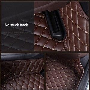 Image 4 - HLFNTF tapis de sol de voiture personnalisé, surround complet, accessoires de voiture pour skoda superbe 2017 kodiaq yeti octavia rs 1 fabia karoq rapid 2017