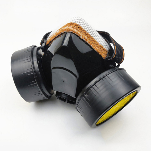 Protective mask Anti flu Anti Virus Mask Anti Dust Face Gas Mask Respirator for Painting Spraying Laboratory Chemistry 2