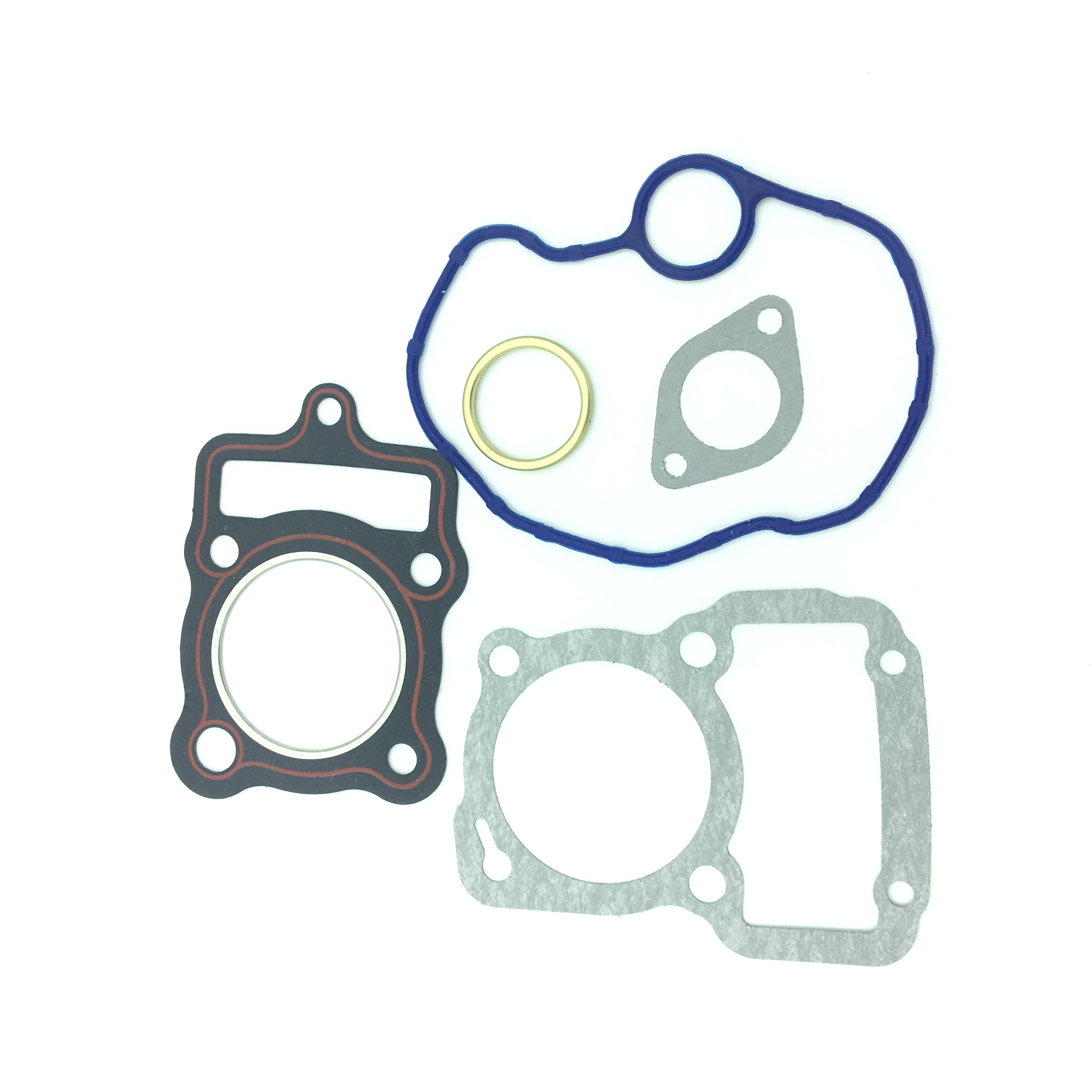 For Honda CG125 Motorcycle Cylinder Head Gasket Complete Set Kit Moped Scooter Replaces Part #12251-KY0-891 Engine Parts Accessories