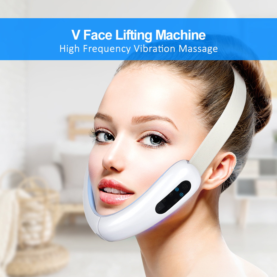 V-Line Face Slimming Lifting Double Chin Removal  Massager