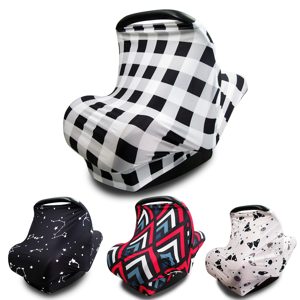 Dustproof Breastfeeding Baby Stroller Cover Multi Use Nursing Cover Mother Newborn Bebe Infant Car Seat Cover For Baby