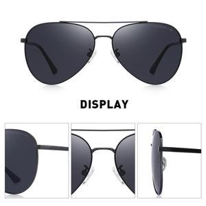Image 3 - MERRYS 디자인 남자 클래식 파일럿 선글라스 HD 편광 된 태양 안경 남자 여자 UV400 보호 s8134에 대 한 낚시 안경 운전