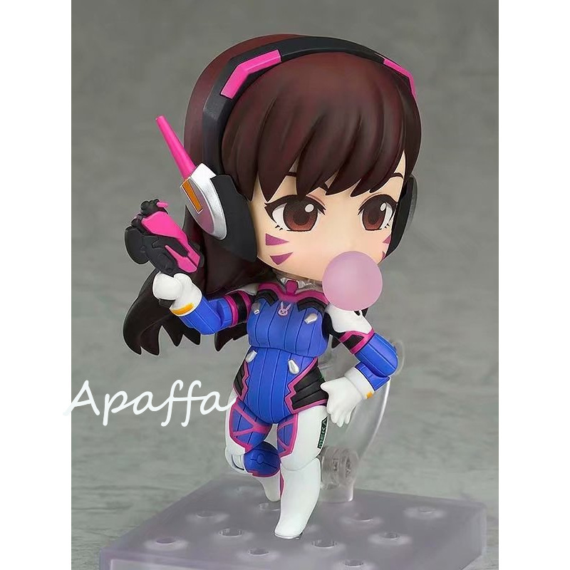10cm Anime Game Figure Toys Overwatch D.Va 847 Hana Song Q Version PVC Action Figure Toys Collection Model Doll Gift 1