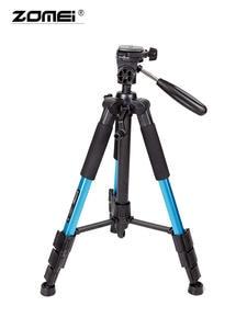 ZOMEI Smartphone-Tripod Camera Aluminum-Stand-Bracket DSLR Travel Stativ Lightweight