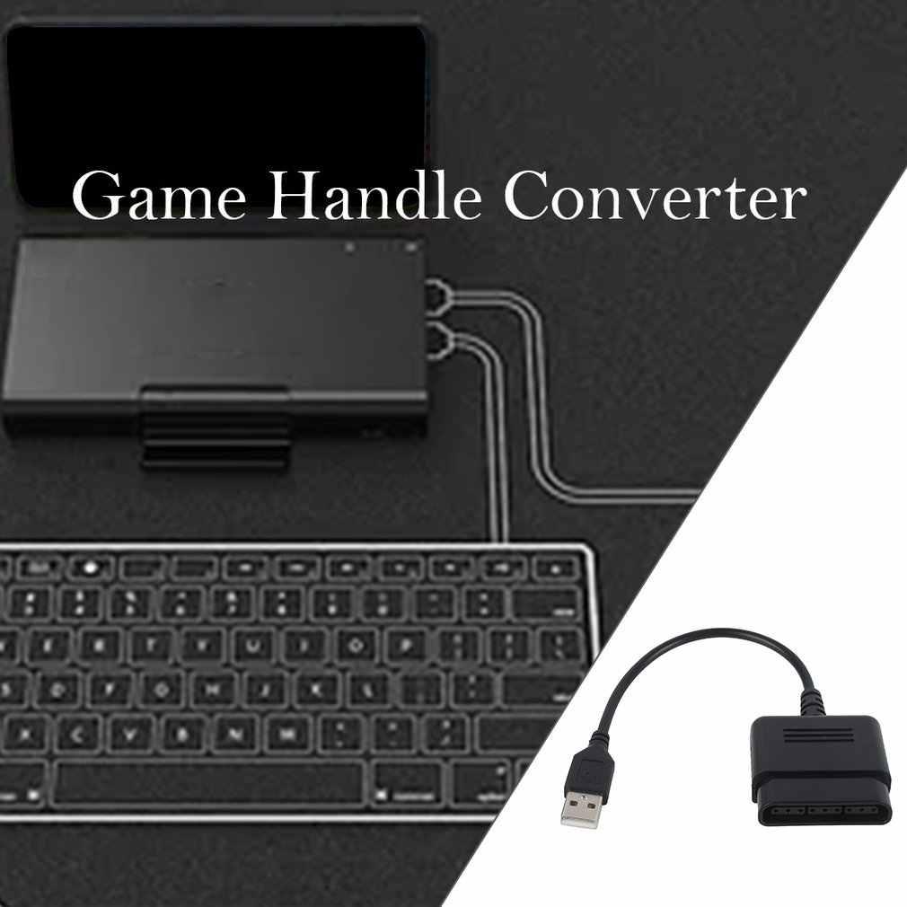 Para PS2 20 CABLE USB 20 para controlador PS2 a PS3 Cable convertidor adaptador USB CABLE Joystick Gamepad a ordenador