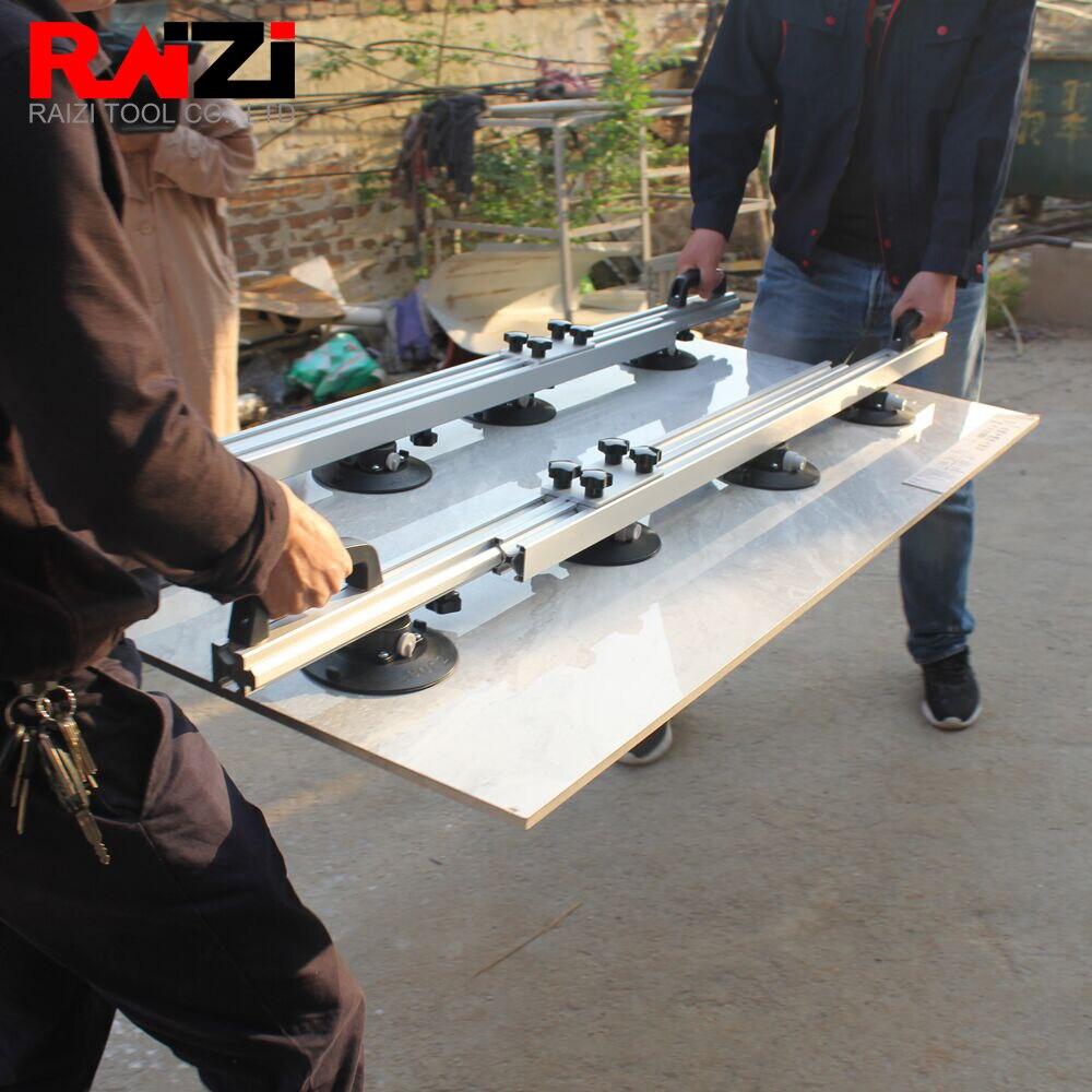Raizi 2 шт. большой формат плитка фарфоровый подъемник инструменты транспортная Система переноски с 8 вакуумными присосками Детали инструментов      АлиЭкспресс