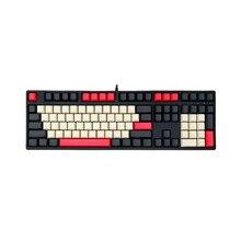 Mekanik klavye Keyscaps PBT OEM 104 anahtar İngilizce düzeni kiraz GK61 SK61 Anne Pro 2 caz NOPPOO IKBC GANSS RK KBT FICO