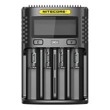 Nitecore profi4 profi2 carregamento rápido, qc inteligente 4a grande corrente multi-compatível carregador usb