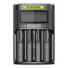NITECORE cargador USB inteligente UMS4 UMS2, carga rápida 4A, gran corriente, multicompatible