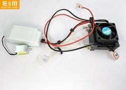 Подгонянная 5 Вт система топливных элементов водородный Протон обмен мембрана PEM PEMFC PEMs стек выпускной клапан контрольная доска с вентилято...