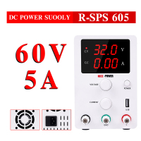 DC Laboratory Switching Power Supply Adjustable 60V 5A Lab Regulated Variable Bench Variable Source Digital For Phone PC
