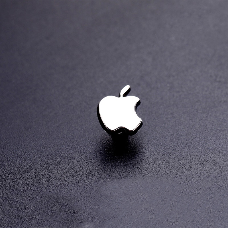 Moda aksesuarları Apple logosu küçük yaka pin takım elbise broş giyim moda tüm maç rozeti