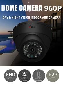 Image 2 - Keeper HD מיני כיפת AHD מצלמה 1.3MP בחדות גבוהה מעקב אינפרא אדום 960P אבטחת CCTV חיצוני כיפת מצלמה עמיד למים