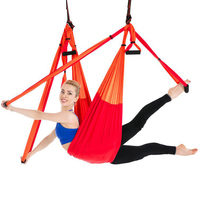 Aerial Yoga Swing Set Yoga Sling Inversion Tool Yoga Hammock Sling Kit Antigravity Ceiling Hanging Yoga Sling Inversion Swing