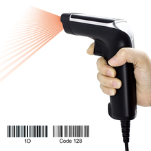 1D Barcode Scanner USB Laser Handheld Wired  Barcode Reader,User for Supermarket,Retail,Express etc 2 4ghz wireless handheld laser barcode scanner gun black yellow