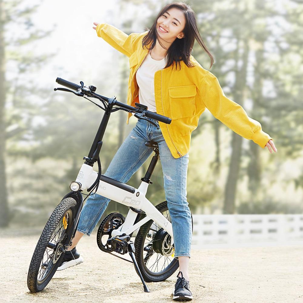 Folding Power Assist Electric Bicycle Moped Ebike 25km/h E-Bike 80KM Mileage Outdoor Electric Bike 250W 10AH Motor 20 Inch Tire