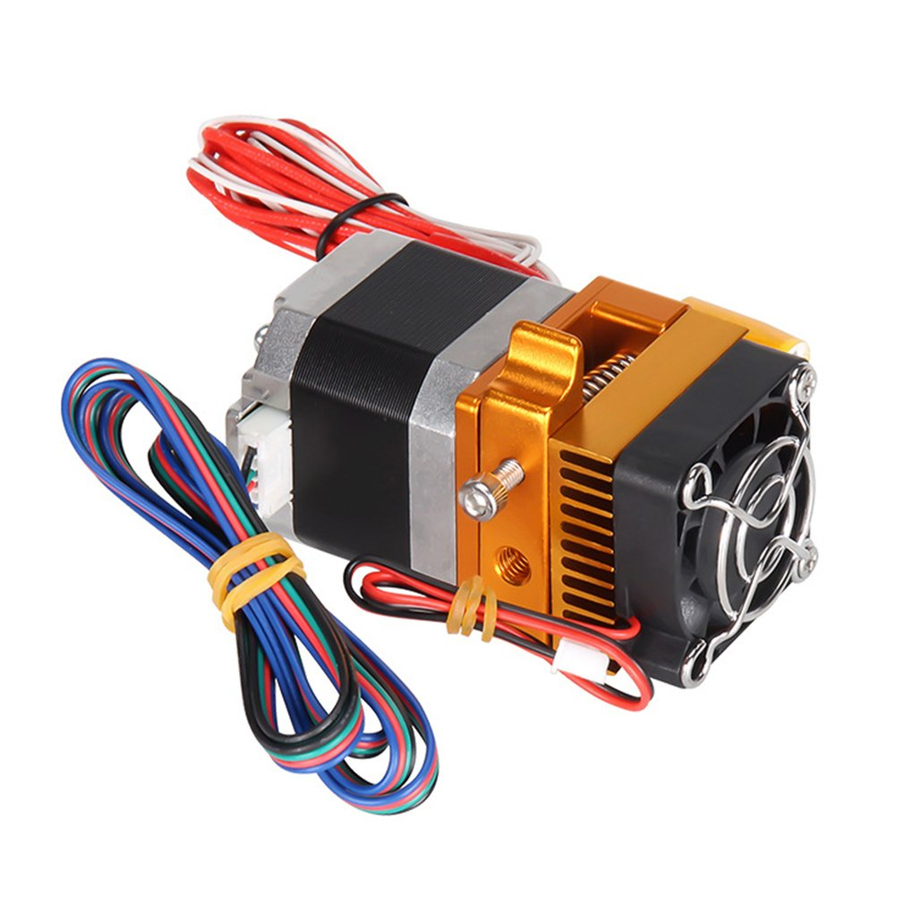 High Quality 12V MK9 Extruder Kit 3D Printer Set With Thermistor Tube Nozzle Cooling Fan For Makerbot DIY Models