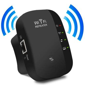 EU Wireless Wifi Extender 300Mbps Repeater 802.11b/g/n 2.4G Network Antenna WPS wifi Signal Long Range Booster Repetidor