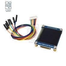 "diymore 1.5inch 1.5"" RGB OLED Screen Display Module 128X128 SSD1351 SPI I2C IIC for Arduino Raspberry Pi STM32"