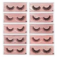 20/30/40/50 Pairs Wholesale Lashes Soft Eyelashes Volume False Eyelashes Makeup Tools Extension Lashes Cilios Natural Long lash