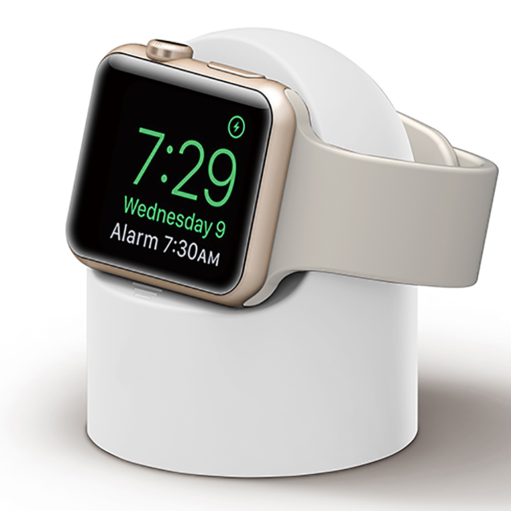 Charge Stand For Apple Watch 4 3 2 1 IWatch Series 4 3 2 1 42mm 38mm 44mm 40mm Station Holder Black White Watch Accessories