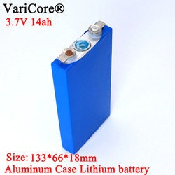 12PCS 3.7V 14A Ternary lithium battery pack 14000mAh Single aluminum shell Motorcycle Electric vehicle energy Storage Modified