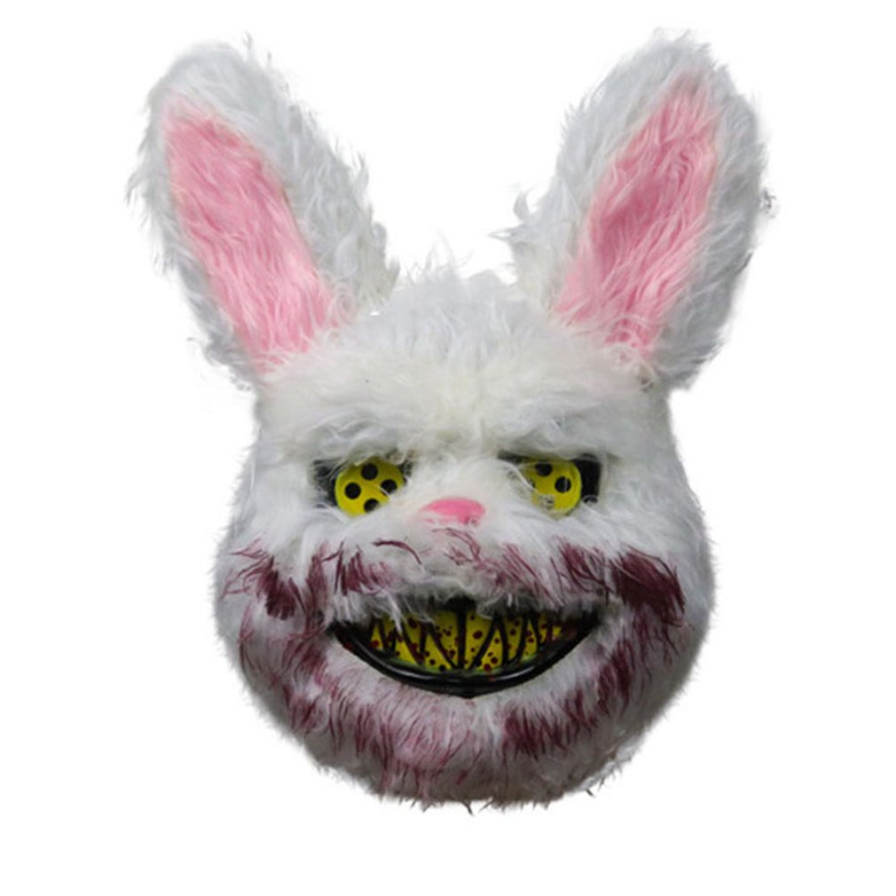 Halloween Mask Bloody Killer Halloween Bloody Fluffy Mask Halloween Fluffy Role Playing Children And Adults Horror Mask