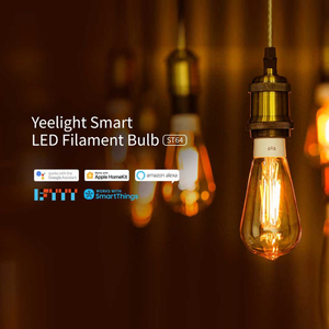 Image 2 - Yeelight bombilla de filamento LED inteligente YLDP23YL, 2020 lúmenes, 6W, Lemon, para Apple homekit, aplicación de hogar inteligente, 500