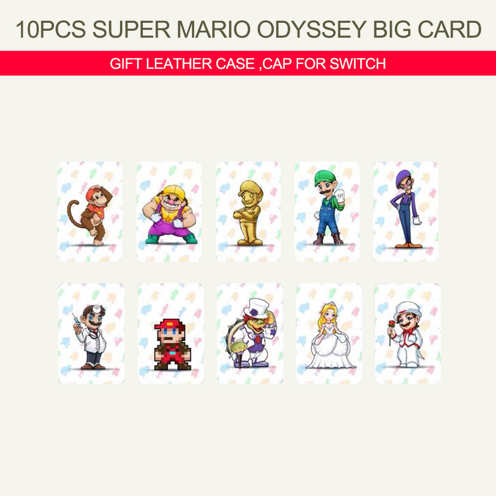 ModX for Mario Super Mario Odyssey <font><b>Amiibo</b></font> <font><b>Card</b></font> Zelda Breath of the Wild NFC <font><b>Card</b></font> for Nintendo Switch Animal Crossing <font><b>Amiibo</b></font> <font><b>Card</b></font> image