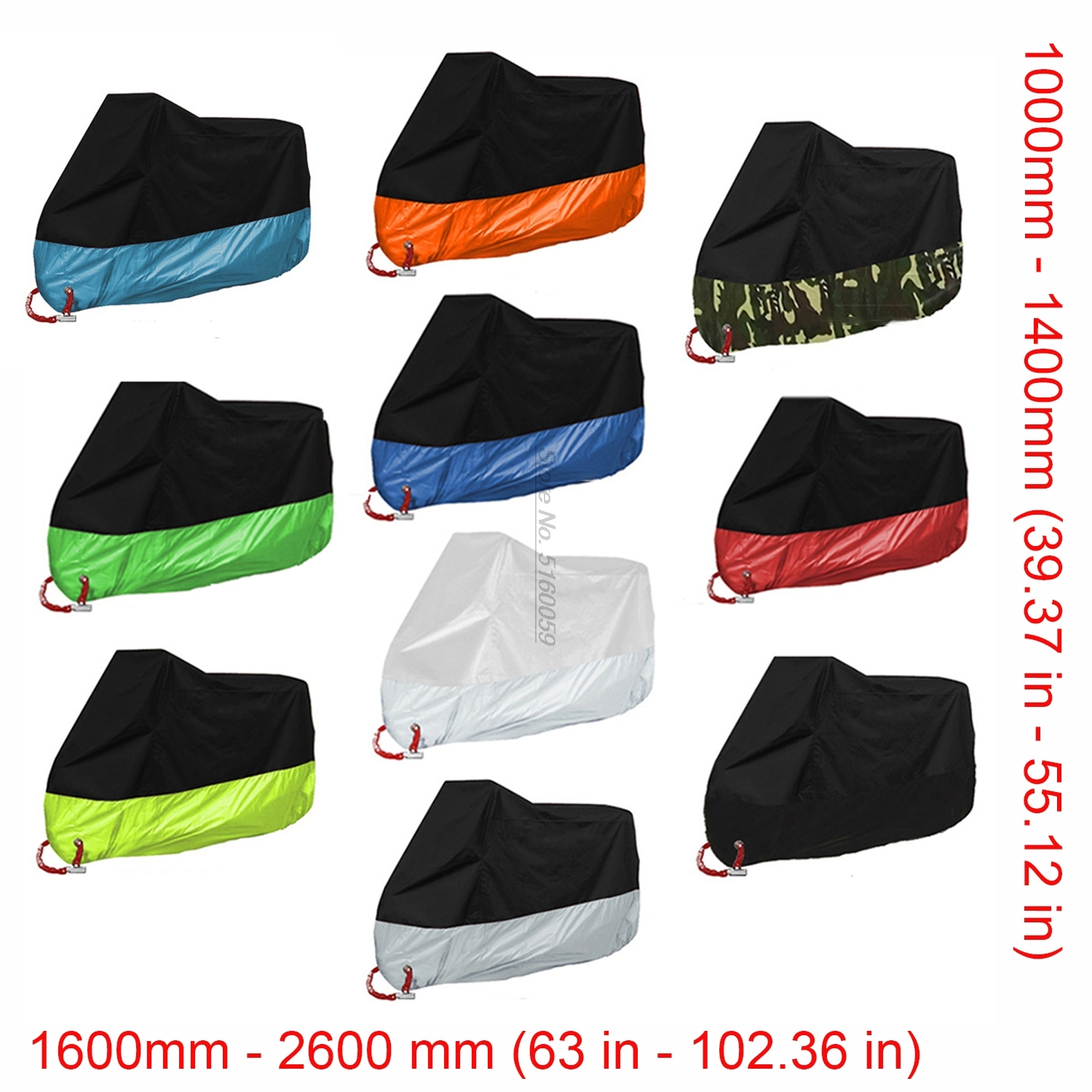 Motorcycle cover for Mt 07 Motorcycle Accessories <font><b>Gl</b></font> 1800 <font><b>Honda</b></font> Motorcycle Cb150R St1300 Virago <font><b>1100</b></font> Suzuki Dl #O0202 image