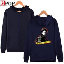 Riverdale Fashion 2019 Zipper Hoodies Sweatshirt High Street comfortable Harajuku Hipster Winter Unisex Zipper(China)