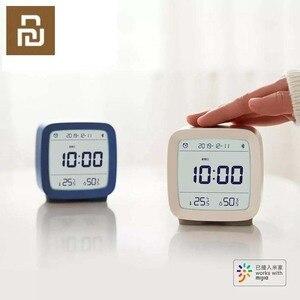 Image 2 - W magazynie Xiaomi Cleargrass Bluetooth budzik inteligentna kontrola temperatury wyświetlacz wilgotności ekran LCD regulowany Nightlight