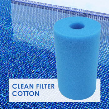 Swimming Pool Filter Foam Sponge Intex B Washable Roll Reusable Clean Water Foam Swimming Portable Outdoor Decors image