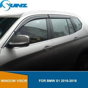 Image 1 - צד חלון Deflectors עבור BMW X1 2016 2017 2018 חלון Visor Vent גווני גשם משמרות הטית SUNZ