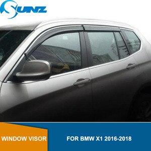 Image 1 - Deflektory boczna szyba dla BMW X1 2016 2017 2018 osłona przeciwsłoneczna osłona przeciwdeszczowa osłona przeciwdeszczowa SUNZ