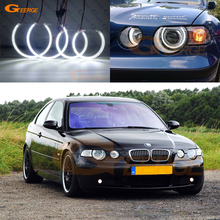 цена на For BMW E46 3 Series Compact 2001-2004 Excellent smd led Angel Eyes Ultrabright 3528 SMD led Angel Eyes Halo Ring kit