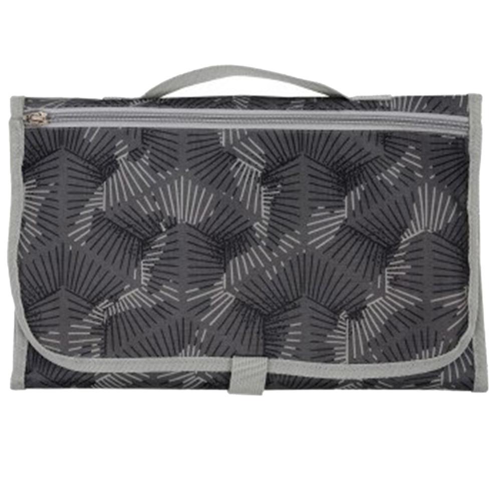 Новые 3 в 1 Водонепроницаемый пеленальный коврик пеленки мнчества, Портативный чехол для детских подгузников коврик чистой ручной складной сумка из узорчатой ткани - Цвет: CPD026
