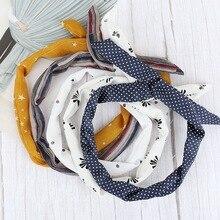 Cute Baby Toddler Infant Headband Dot Printing Stretch Hairband Headwear hair accessoriesbaby headband