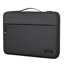 WIWU водонепроницаемый чехол для ноутбука MacBook Pro 13 2020 A2338, сумка для ноутбука MacBook Pro 16 дюймов, модная сумка для ноутбука 14 дюймов