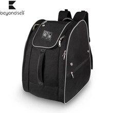Ski-Shoes-Bag Skate 2258 Reflective-Strips Double-Shoulder-Backpack-Handbag Large-Capacity