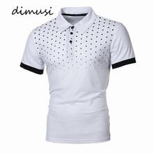 DIMUSI-Polos de verano Para Hombre, camisas ajustadas de manga corta con dibujo Para Hombre, camisetas Para Hombre 5XL