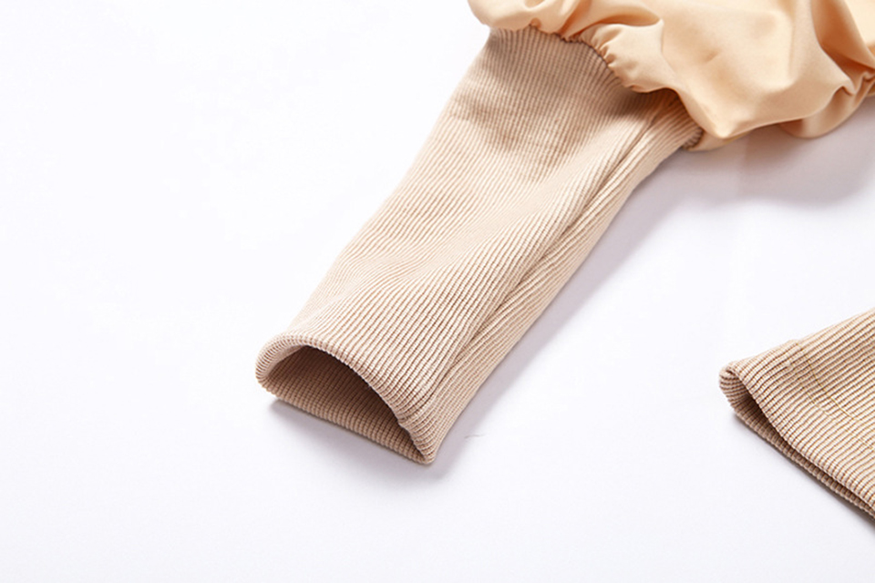 Oversized Puff Long Sleeve Blouse